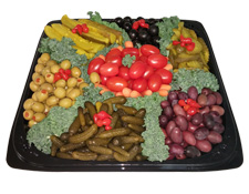 Party trays at LaLonde's Market